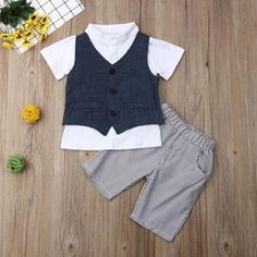 Perfect for your little boy. Easy to wear and can be used casually. Cotton and polyester blend materials make the fabric comfortable and smooth for kids' sensitive skin. Dance Outfits, Boy Outfits, Valentines Outfits, My Black, Little Boys, Gentleman, Boy Clothing, Clothes, It's Thursday