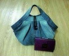 Denim Handbag - Free Photo Tutorial by kxdiy