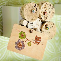 These thrifty craft and project ideas to upcycle wine corks will have you popping open the bottles! Make anything from homemade cards to coasters and wreaths with this list of DIY projects to add to your weekend to-do list!