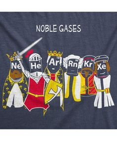 Noble Gases T-Shirt