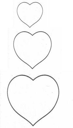 Good modele de coeur a imprimer gratuit dessins silhouette portrait valentines et heart - Coeur a imprimer gratuitement ...