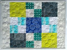 Quilty Habit: Charm Pack Placemat Sew Along with Fat Quarter Shop Easy Tutorial