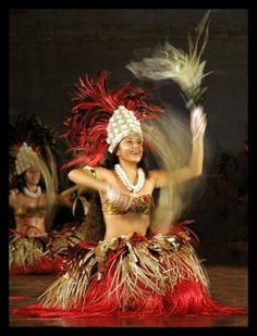 Tahitian Otea! I miss doing Polynesian Dance tooo much!!