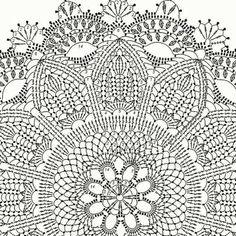 Round area rug 625 in crochet rug crochet decor doily Crochet Doily Rug, Crochet Doily Diagram, Crochet Rug Patterns, Crochet Carpet, Crochet Dollies, Crochet Mandala Pattern, Crochet Tablecloth, Crochet Home, Thread Crochet