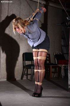 You will Bound to pole with rope