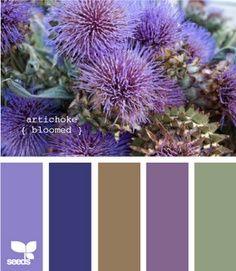 Artichoke - Purple Blue