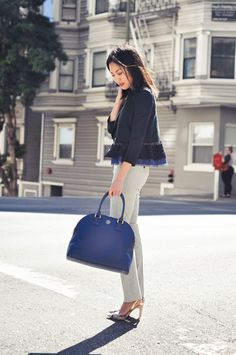 9to5Chic: French Navy