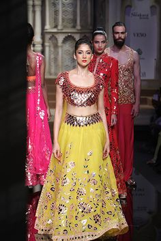 Abu Jani and Sandeep Khosla | BMW India Bridal Fashion Week 2015 #PM #Indiancouture