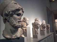 Greek and Roman Heads at the MET NYC