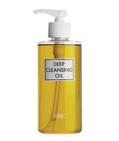 DHC Deep Cleansing Oil: This cult favorite cleanser (one bottle is sold every 10 seconds worldwide!) melts through layers of makeup without any tugging or stinging. Rich in vitamins and antioxidants, it leaves skin superbly soft and radiant.
