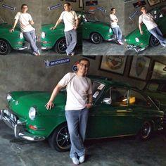 Me and my green volkswagen