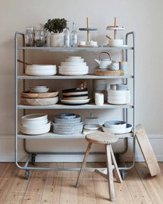 create a luxe kitchen cart