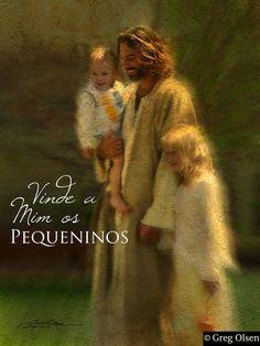 Os pequeninos..., meus filhos, estão sob os cuidados do meu Pastor Eterno.