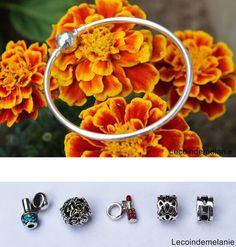 I like all the charms. The bracelet looks nice.