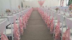 Rózsaszín álom. Esküvői dekoráció.