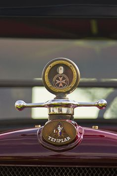 Temolar Hood Ornament by Jack R Perry with Pin-It-Button on FineArtAmerica