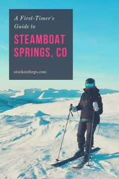 Visit Colorado, Colorado Winter, Skiing Colorado, Winter Fun, Winter Travel, Travel Hacks, Travel Ideas, Steamboat Springs Colorado, Usa Places To Visit
