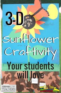Spring is here! Check out this craftivity to use with your plant studies unit. Your kiddos will love to do this craft and it makes a great writing activity!