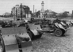 Wrzesień 1939 na Pradze Północ - Wydarzenia - Twoja Praga Warsaw Uprising, Invasion Of Poland, Soviet Union, World War Two, Retro, Military Vehicles, Wwii, Germany, Tanks