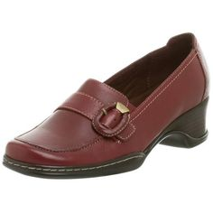 """Naturalizer Shoes For Women Banna Naturalizer Women's Olla Tailored Slip On                                 leather                    Manmade sole                    Heel measures approximately 1 3/4""""                    Platform measures approximately 1/2""""                    extra cushion insole                    leather upper"""