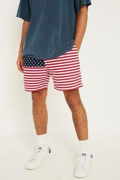 Urban Renewal Vintage Originals Chubbies USA Flag Shorts c374c4f47c5