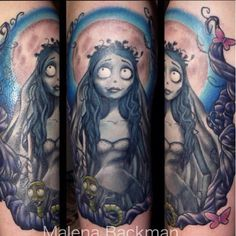 Corpse Bride Tattoo.