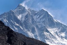 Lhotse from Dingboche