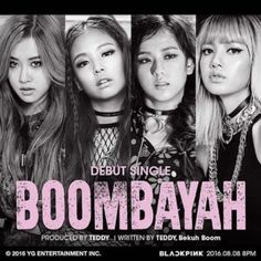 BlackPink+–+Debut+single+Boombayah