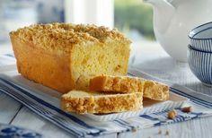 Recept voor appelkruimelcake: een smeuïge cake met stukjes appel, een vleugje vanille en een knapperige kruimellaag