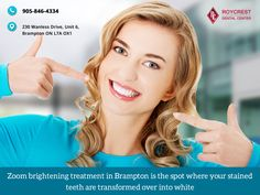 Zoom brightening treatment in Brampton is the spot where your stained teeth are transformed over into white.  #dentalhygienist #invisalignlife  #dentalhealth #beauty #orthodontics #willigeller  #aesthetics #lifequote #bramptondentist  #dentistinbrampton  #dentistrylife