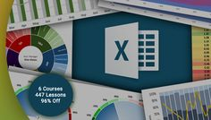 Ultimate Microsoft Excel Course Bundle Discount - 06 Courses - 96% Off   96% Off Coupon Code - The Ultimate Microsoft Excel Courses Bundle - 6 Course - The 33 Hour Online Training to Excel Wizardry and Your Next Climb Up the Career Ladder. Included courses are :  Course No. 1 : Microsoft Excel: Advanced Excel Formulas and Functions Master 75 Excel Formula and Functions with Hands-On Demos Duration of the Course : 6 hours Number of lessons : 93  Course No. 2 : Microsoft Excel: Data…