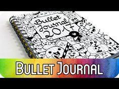 Bullet Journal für Anfänger: Einführung & Setup 2017 - inkl. Dekorationsideen für den Planner - YouTube