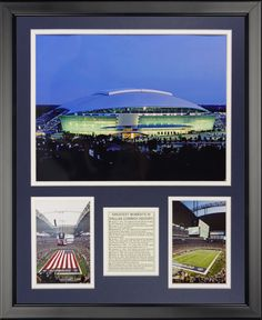 Dallas Cowboys - New Texas Stadium Framed Photo Collage