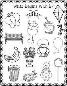 Beginning Sound Seek, Find, and Color-Great for beginning of the year, assessment, phonics practice, or seatwork.
