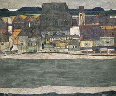 Egon Schiele - 1890 - 1918, 1914 Oil on canvas / 100 x 120.5 / Museo Thyssen-Bornemisza, Madrid