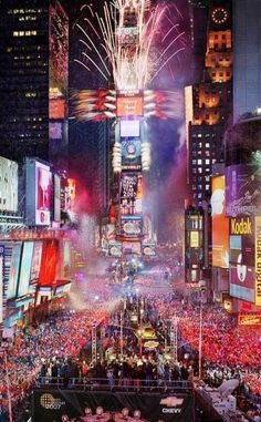 New Year's Eve, New York City