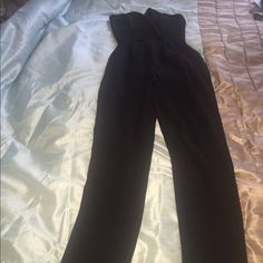 Jump suit. *NEVER WORN! Too small for me Strapless, flows bottom Hot Miami Styles Other