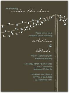 i like how the graphic separates the invite, the dark background is also nice -- maybe a grey?