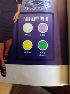 InStyle/The Color Issue: Navy