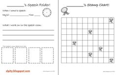 SLP-ity!: Elementary Speech Folders