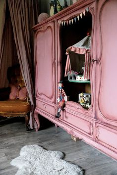 Circus themed little girls room