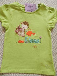 Una camiseta muy alegre para el veranito, de Camisetas elena.