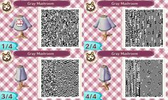 """titancrumb: """"I'd love to start this blog off with a few QR codes! This was actually the first pattern I made, but I love it anyways. Check out the rest of my Mario sweater set! Pink Boo Blue Star..."""