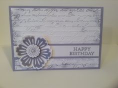 Birthday Card Mixed Bunch  Stampin' Up! by Ophelia Crafts - for supplies please go to opheliacrafts.stampinup.net Thanks!