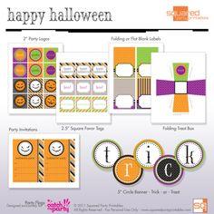 65 Free Halloween Party Printables