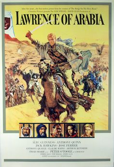 lawrence of arabia - outstanding acting, story, and the film history of the filming is astonishing, scenery is breath taking :)