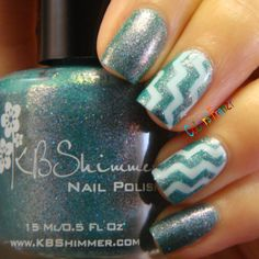 Colors Frenzy: KB Shimmer Teal Another Tail