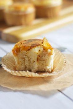 Crême Bruleé Cupcakes- The Baker Chick