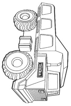 32 Coloring Pages Of Trucks On Kids N Funcouk