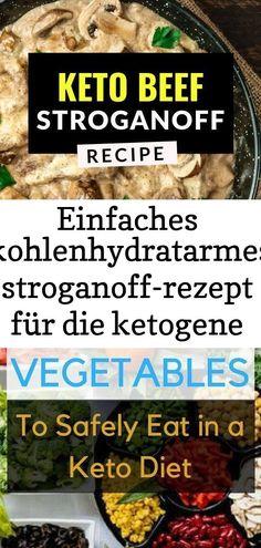 Boeuf Stroganoff Rezept, Stroganoff Recipe, Ground Beef Stroganoff, Crack Chicken, Breast, Diet, Baking, Vegetables, Recipes